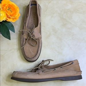 Men's Sperry Top-Sider Genuine Leather Boat Shoes